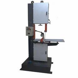 Hydraulic And Manual Vertical Band Saw Machine