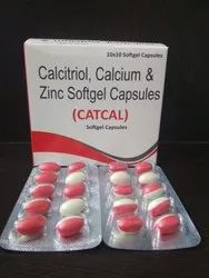Calcitriol Calcium Carbonate with Zinc Softgel