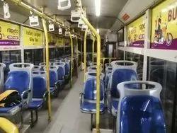 Bus Internal Advertising Service, For Advertisement, Mode Of Advertisement: Offline