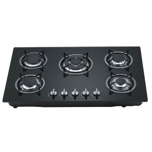 5 Burner Gas Stove, Size: 860*520mm
