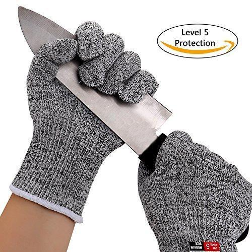 Cut Resistant Gloves For Kitchen, Kitchen Gloves For Cutting And Chopping,  Wooden Work, Industrial,