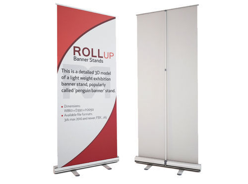 Exhibition Stand Roll Up : Roll up banner stand trade show exhibition equipment yuvraaj