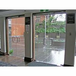 Saint Gobain Frameless Glass Door, Thickness: 2-12mm