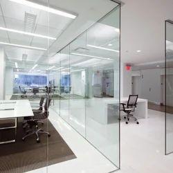 Blue Interior Glass