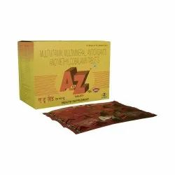 A To Z NS New Multivitamin, Multimineral, Antioxidant and Methylcobalamin Tablets