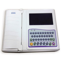 Nidek 12 Channel ECG Machine with Reporting