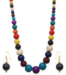 Festive Chemical Beads Necklaces