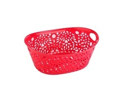 Plastic Fancy Basket - Small