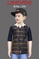 Casual Wear BOY''S SHIRTS, Packaging Type: Depends On Quantity