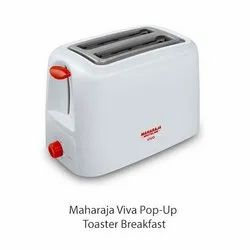 Maharaja Viva Pop-Up Toaster, For Kitchen, Number Of Slices: 2