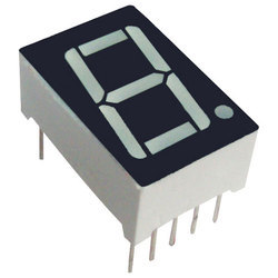 Seven Segment Display Red 1.0 Inch Single Digit Common Anode