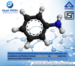 ISI Mark Certification for Aniline