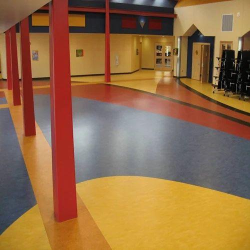 Pvc 5 Mm Vinyl Flooring Rs 130 Square, 5mm Vinyl Flooring