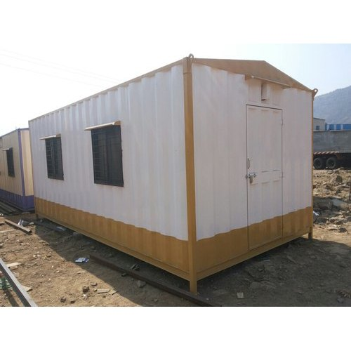Rectangular GI Portable Cabin