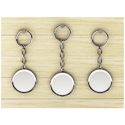 Metal Polished Key Chain Set