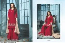 Georgette Net Partywear Suits