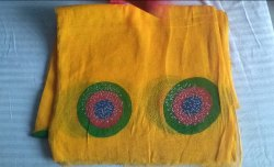 Printed Rajputi Dress Fabric