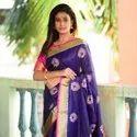 Pure Designer Raw Silk Saree