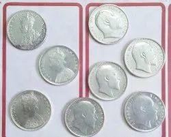 1 Rupee Rare Indian Antique Coin