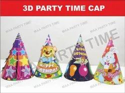 3D Party Time Cap