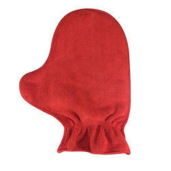 Unisex Red Softspun Microfiber Multipurpose Dual Sided Glove