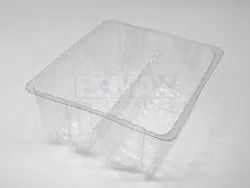Transparent Biscuit Packaging Tray