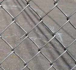 Silver Chain Link Fencing, For Agricultural, Gardens Etc