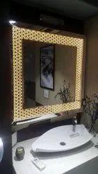 Indoor Backlit Mirror