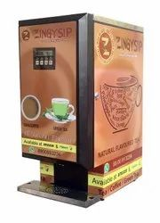 Zingysip - Tea Vending Maching To Serve  45 Types Of Tea & Coffee