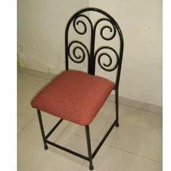 Haitu Mild Steel Designer Dinning Chair, For Home