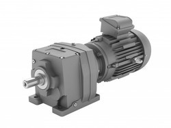 In Line Helical Geared Motors