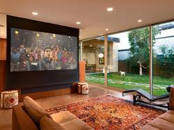 Wall And Ceiling Mounted Projector Screen