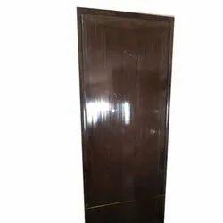 Dark Brown PVC Bathroom Door