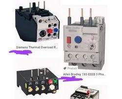 Thermal Overload Relays , Siemens, L&T, C&S, SCHNEIDER, TC, type, ml, 3ua50, 52, 55, 58, 62, lr1d,