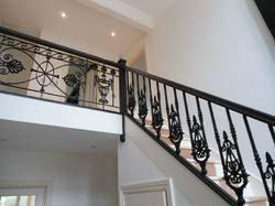 On Demand Modular Staircase Railing Fabrication