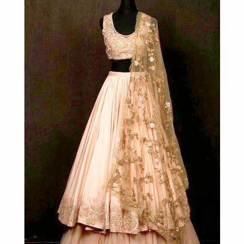3e7ce18e37 Stitched Wedding Wear Ladies Fashionable Party Wear Lehenga, Dupatta  Fabric: Net