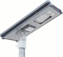 12W Semi Integrated Street Light (Inbuilt Li-ion Battery)