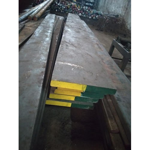 Alloy Steel EN8 Flat Bar for Construction, Length: 6 meter