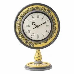D'Dass Table Clock/ Decorative Gift Item/ Anniversary Gift