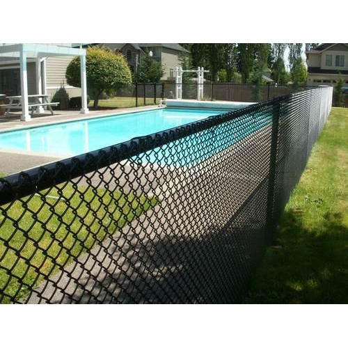 Chain Link Swimming Pool Fence, Rs 50 /kilogram, Superior Weldmesh ...