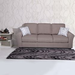 Fabric 3 Seater Andorra Sofa, Warranty: 1 Year