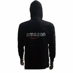 Plain Black Corporate Full Sleeves Sweatshirt