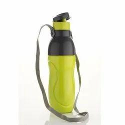 Plastic Round School Water Bottle, Capacity: 400 Ml