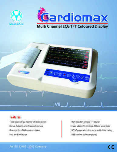 Medicaid Systems, Ahmedabad - Manufacturer of ECG Machine