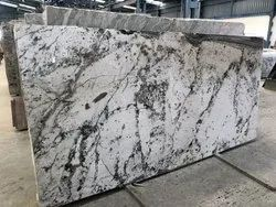 Polished Flooring Alaska White Granite, Thickness: 15-20 mm