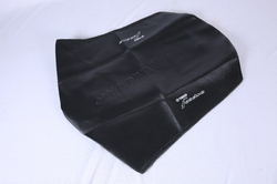Black Bike Seat Cover