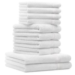 White Cotton Bath Towels