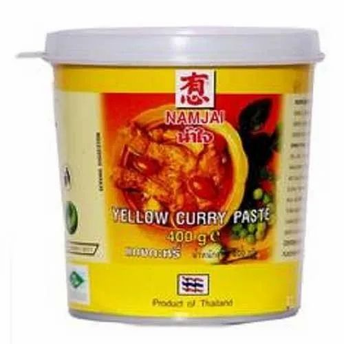 Namjai Yellow Curry Paste, Packaging Size: 400 gm