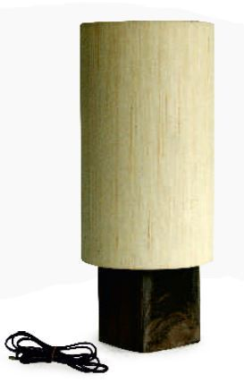 Modern/Contemporary Cylindrical Table Lamp