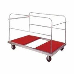 Mild Steel Banquet Table Trolley